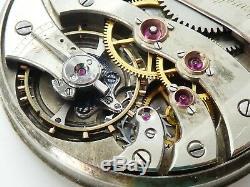 High grade pocket Agassiz Geneva 21 jewels watch werk movement not working W712