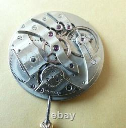 High grade pocket watch movement Frankfeld Freres for Dreicer & Co. (Z609)