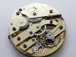 High grade pocket watch movement watch werk movement working W711
