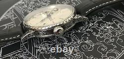 High grade rolex pocket watch movement in new engraved case 43 mm