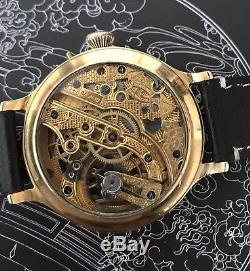 High grade skeleton vacheron constantin pocket watch movement in new ss case