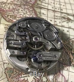 High grade unsign chronograph pocket watch movement! Patek