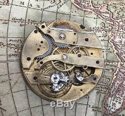 High grade unsign louis audemars pocket watch movement RARE 42.5 mm! Working