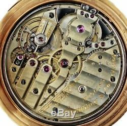 High grade unsign patek philippe quarter repeater pocket watch movement /Tiffany