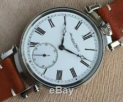 IWC 48mm Schaffhausen c. 65 q. 1A Marriage Pocket Watch Movement
