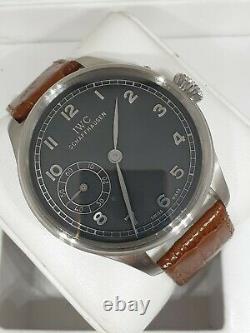 IWC Portugieser pocket watch movement recently serviced