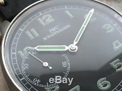 IWC Schaffhausen Calibre 52 Rare Military Pilot Marriage Pocket Watch Movement