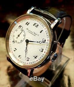 IWC Schaffhausen Rare Classic Marriage Pocket Watch Movement