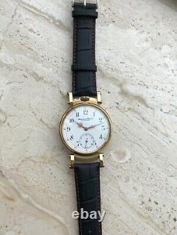 IWC Schaffhausen marriage watch, pocket watch movement, cal. 65