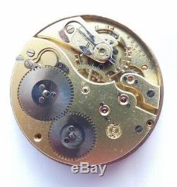 IWC Taschenuhr werk pocket watch movement not working Dial gebraucht (Z654)
