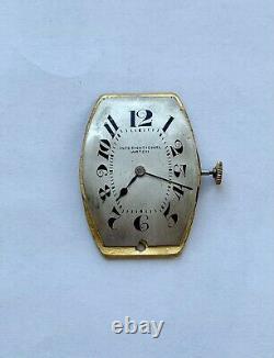 IWC pocket watch movement