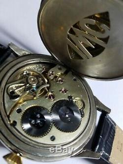 IWC pocket watch to wristwatch conversion for repair