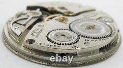 Illinois 12s 13s A. Lincoln Pocket Watch Movement 19 jewels adj. For project