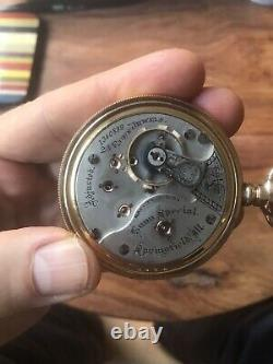 Illinois Bunn Special 24 Jewel Size 18 Pocket Watch Beautiful Movement Runs