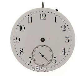 Iwc Schaffhausen International Watch Co Swiss Lever Pocket Watch Movement Vv76