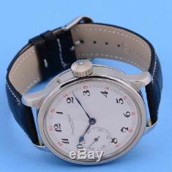 Iwc Schaffhausen Swiss Chronometer 1a Quality Pocket Movement 1918