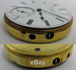 J. W. Benson at London Pocket Watch Movement diameter 44.2 mm HC Ludgate