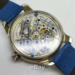 Jaeger LeCoultre Blue World Classic Elegant Marriage Pocket Watch Movement