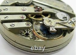 James Mix Albany NY, 17 jewels Pocket Watch movement diameter 42.7 mm. HC