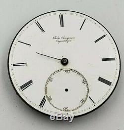 Jules Jurgensen 42mm Pocket Watch High Grade Movement As Is