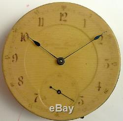 Keystone Pocket Watch Movement Grade 15 Jewel Spare Parts / Repair