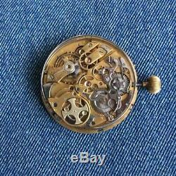 LONGUEVUE Antique Pocket Watch High-Grade Repeater Movement 47 mm