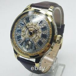 LeCoultre Elegant Classic Vintage Marriage Pocket Watch Movement