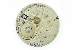 LeCoultre Pocket Watch Movement Spiral Breguet Good Balance 42.9 mm (SO72)