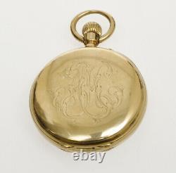 Lepine 1900/01 pocket watch 18k gold, Vacheron & Constantin original movement