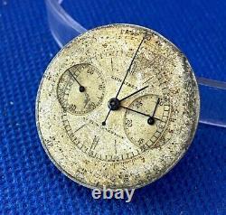 Longines 13ZN chronograph mens wristwatch movement & dial balance ok (1C/5883)