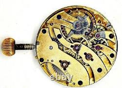 Longines Fob/wrist Swiss High Grade Highly Jewelled Pocket Watch Movement S274