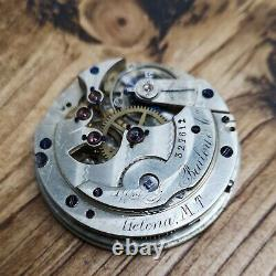 Longines High Grade for William Bailey & Co Pocket Watch Movement Working (F106)