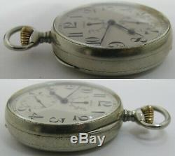 Longines Pocket Watch 21 29 Up & Down 21 jewels 5 adj. Movement OF 53.5 mm