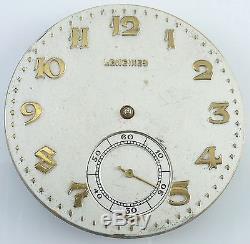 Longines Pocket Watch Movement 17.89M Spare Parts / Repair