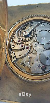 Longines alarm pocket watch movement caliber 19.65, taschenuhren