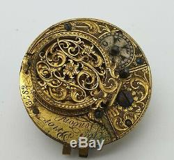 Lot Of 5 Pocket Watch Movements Minute Repetition, Calendar, Gmt, Fuse Etc