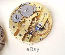 Louis Audemars demi-chronometer 42mm high grade pocket watch movement