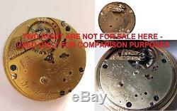 Louis Audemars for T. Martin small 34.8mm high grade pocket watch movement