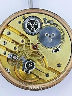 Lovely Quality Clemence Freres Geneve Working Pocket Watch Movement (F88)