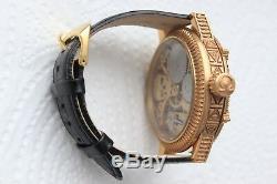 Luxury Swiss Pocket Watch Omega Movement 1923s SKELETON Skull, Freemason Masonic