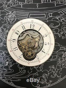 MEGA rare piece chronograph minute repeater pocket watch movement Ed. Richard