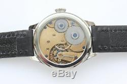 Marriage watch Movement from Pocket watch converted to wristwatch