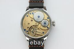 Marriage watch Movement from Pocket watch converted to wristwatch Regulateur