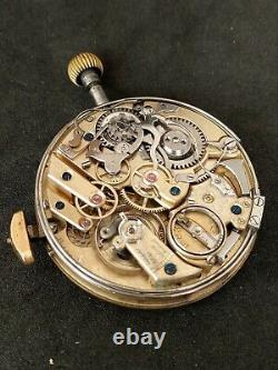 Maurice Ditisheim (Vulcain)Minute repeater pocket watch movement