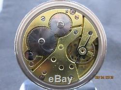 Military Pocket Watch Correct Military Markings Pierce Movement