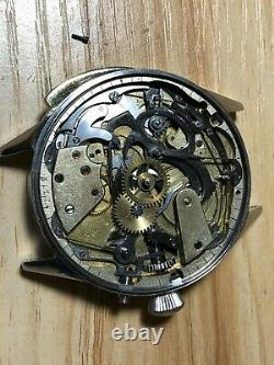 Minute Repeater Chronograph Movement Wristwatch converted from Pocket watch Rare