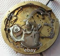 Minute Repeater & Chronograph Pocket Watch movement & enamel dial