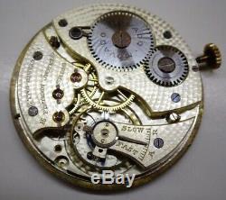 Movado Taschenuhr werk 42mm voll funktion, pocket watch movement (k82)