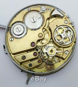 Movement And Dial Pocket Watch Minute Repeater Universal Extra
