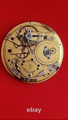 Movement for pocket watch, Quarter Repeater